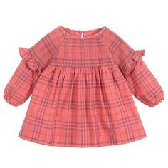 Pink dress for baby girls by luxury brand Burberry dbcdff20cbf
