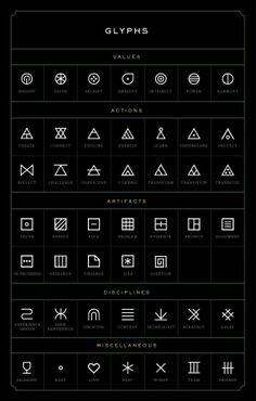 tATTOO iDEAS : glyphs