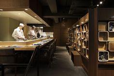 すだち 和食レストラン|spinoff Japanese Bar, Menu Restaurant, Restaurant Design, Teppanyaki, Reception Counter, Sushi Restaurants, Cafe Bar, Shop Interiors, Roppongi