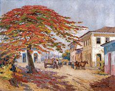 ARMANDO VIANA - Parati, velho porto Óleo sobre tela - 73 x 92 - 1958