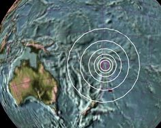 STRONG 6.0 MAGNITUDE EARTHQUAKE STRIKES OFF  FIJI - No Tsunami warning -Earthquake 3D map.