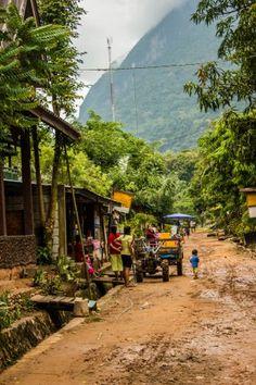 Muang Ngoi Neua main street