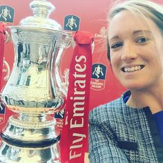 FA cup #selfie ... @emirates are in the building today #apparentlyabigdeal by bex_l876