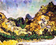 Van Gogh in tilt shift 6
