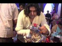 My Friend Hussain music launch - Celebs worship Ganesha and audio launch at Andheri cha Raja - YouTube