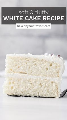 Fun Baking Recipes, Easy Cake Recipes, Best Dessert Recipes, Sweet Desserts, Cupcake Recipes, Delicious Desserts, Cupcake Cakes, Cupcakes, Homemade White Cakes