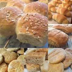 Litt av hvert i brød bakst, et utvalg brød bakst, – Fru Haaland Besta, Dessert Recipes, Desserts, Food And Drink, Cookies, Cake, Horn, Liverpool, Alice