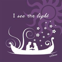 I see the light (Tangled) by MairaArtwork.deviantart.com on @DeviantArt