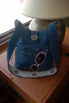 Upcycled Denim Tote / Purse