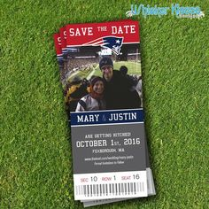 Sports Save-The-Date Save-The-Date-Magnet by WhiskerKissesDesigns sports save the dates, baseball save the dates #wedding #sports