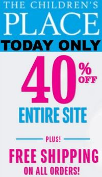 Children's Place coupon codes: http://www.coupondad.net/childrens-place-coupon-code/