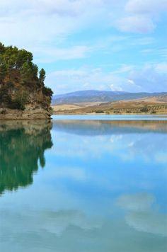 Lake not far from Holiday Home El Toro Blanco - Ronda - Andalucia