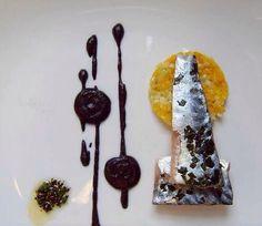 Black pudding makerel pumpkin leek
