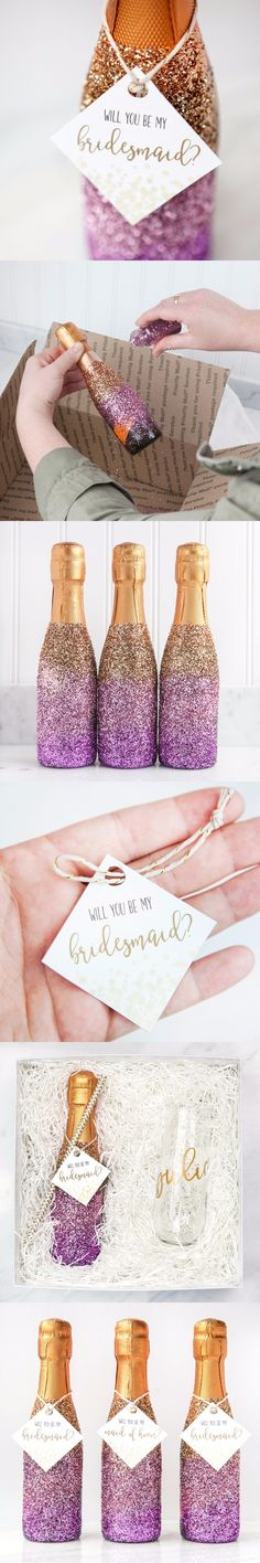 Un adorable gesto que tus damas de honor apreciarán / http://weddinglovely.com/