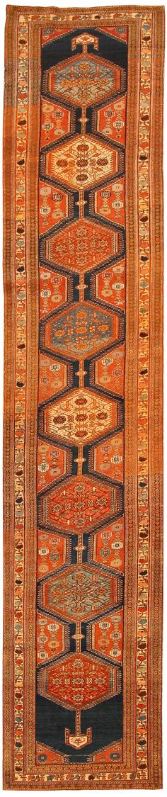 Antique Bakshaish Persian Rugs 43852 Detail/Large View - By Nazmiyal