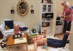 El mundo oscuro de Barbie por Mariel Clayton