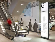 New York: John Lewis Wayfinding Partners Harry Pearce and William Russell have designed a ...