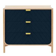 Commode à trois tiroirs Marius Hartô Enfant- Large choix de Design sur Smallable, le Family Concept Store - Plus de 600 marques.