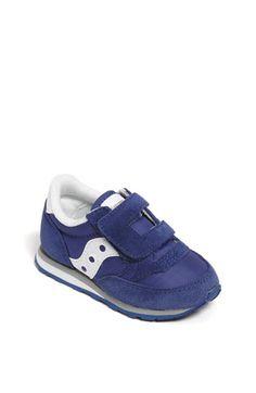 Saucony 'Jazz' Hook & Loop Sneaker (Baby, Walker & Toddler)