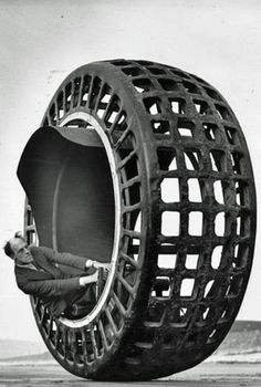 Dr. Victor Frankenstein's newest project was the Dynasphere-which was a monowheel built in 1932 that can go up to 25 miles an hour..