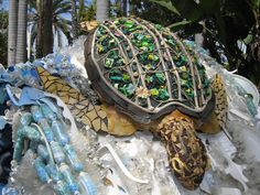 sculptures made from ocean trash - Google Search