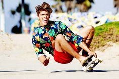 Tony Kelly Snaps Austin Victoria for Ramp Style's Retro Photo Shoot