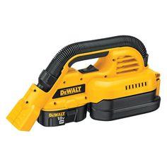 Dewalt Power Tools 1/2 gal. Heavy Duty Wet/Dry Portable Vacuum #DIY