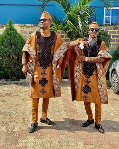 African Dresses Men, African Tops, African Wear, African Attire, African Outfits, Nigerian Men Fashion, African Men Fashion, Native Fashion, Mens Fashion