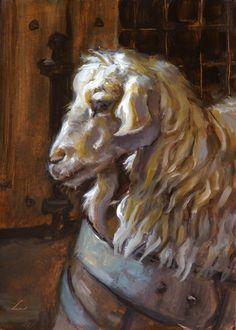 Woolly Goat by *VampireHungerStrike on deviantART