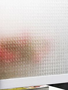 Classic Frosted geometrisk mønster Window Film – DKK kr. 79