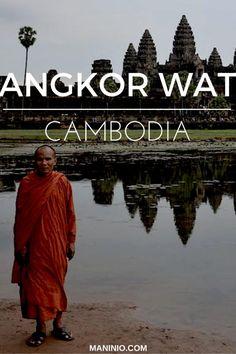 Angkor - wat - Cambodia - maninio - asia