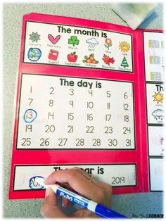 Morning Routine for the Self-Contained Classroom Use the calendar mat during your morning work in special ed to keep all students engaged and concentrated on the task of calendar. Kindergarten Morning Routines, Kindergarten Calendar, Calendar Activities, Classroom Calendar, Kindergarten Lesson Plans, Teacher Calendar, Calendar Ideas, Calendar Design, Morning Work For Preschool