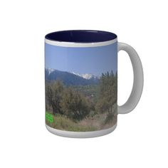 San Gorgonio Wilderness Panorama Mug from Florals by Fred #zazzle #gift