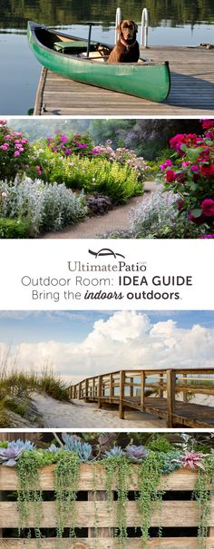 Whether you're at home in the Carolina lowcountry, the California coast or anywhere in-between, an outdoor room can enhance your home by creating more space for your lifestyle. Outdoor rooms take on all sizes, styles, climates and purposes. Regardless of what you want to do outside—entertain, relax, cook, work or play—our idea and shopping guide is here to help you bring the indoors outdoors.