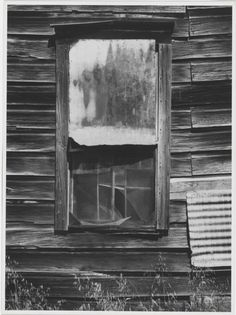 Ansel Adams, Window, Bear Valley, California, Polaroid Type Gelatin silver print x & The Ansel Adams Publishing Rights Trust/ WestLicht Collection. Black And White Landscape, Black N White Images, Polaroid, Ansel Adams Photos, Ansel Adams Photography, Landscape Photography, Nature Photography, Street Photography, Photography Ideas