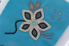Jennifer Rafferty | NWT Arts Native Beading Patterns, Beadwork Designs, Native Beadwork, Native American Beadwork, Bead Loom Patterns, Beaded Jewelry Patterns, Sewing Leather, Leather Craft, Beading Projects