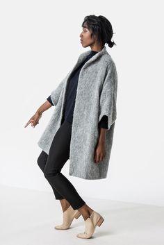 Elizabeth Suzann Cocoon Coat.