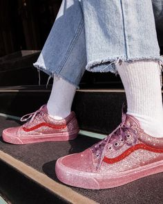 You're Gonna Go Wild for These Glitter-Coated Opening Ceremony x Vans Sneakers | Brit + Co