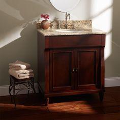 """30"""" Dyer Walnut Vanity for Undermount Sink"""