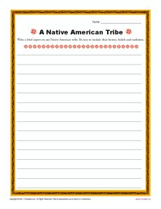 writing activities for middle school history