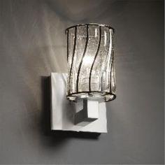 Justice Design WGL-8921 Modular 1-Light Wall Sconce