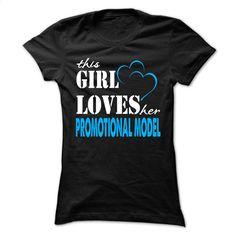 This Girl Love Her Promotional model  T Shirt, Hoodie, Sweatshirts - custom hoodies #tee #hoodie
