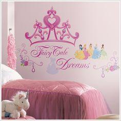 Disney Princess Wall Decals  Nice price!!! $18.49
