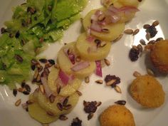 About Eggs and Eastern and a Springtime Salad