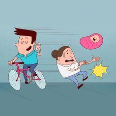 Más de 60 mil pesos puede costar un parte por andar sin luces en bicicleta
