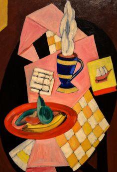 Marsden Hartley - The Bright Breakfast of Minnie, 1915 at Denver Art Museum - Denver Colorado