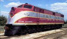 EMD E3A, E6A & E6B Diesel Units - Atlantic Coast Line