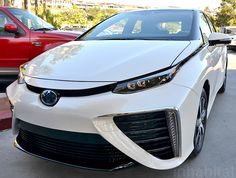 Toyota Unveils Mirai Fuel Cell Vehicle With Range; Can it Kick-Start a Hydrogen Revolution? Fuel Cell Cars, Hydrogen Fuel, Revolution, Toyota, Kicks, Range, Vehicles, Cookers, Car
