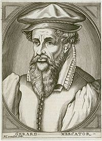 Gerardus #Mercator - Flemish cartographer whose most important innovation was a map, embodying what was later known as the Mercator projection.