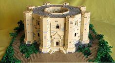 An amazing castle. Love the unique shape.